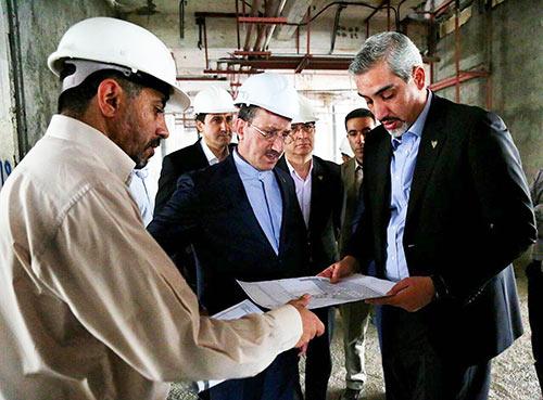 بازدید مدیرعامل از ایستگاه راه آهن تهران و ساختمان شهید کلانتری