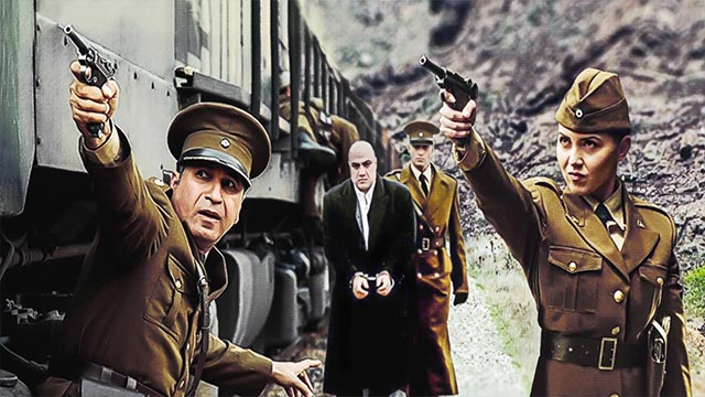 سکانس های جذاب فیلم سینمایی استرداد در محیط راه آهن