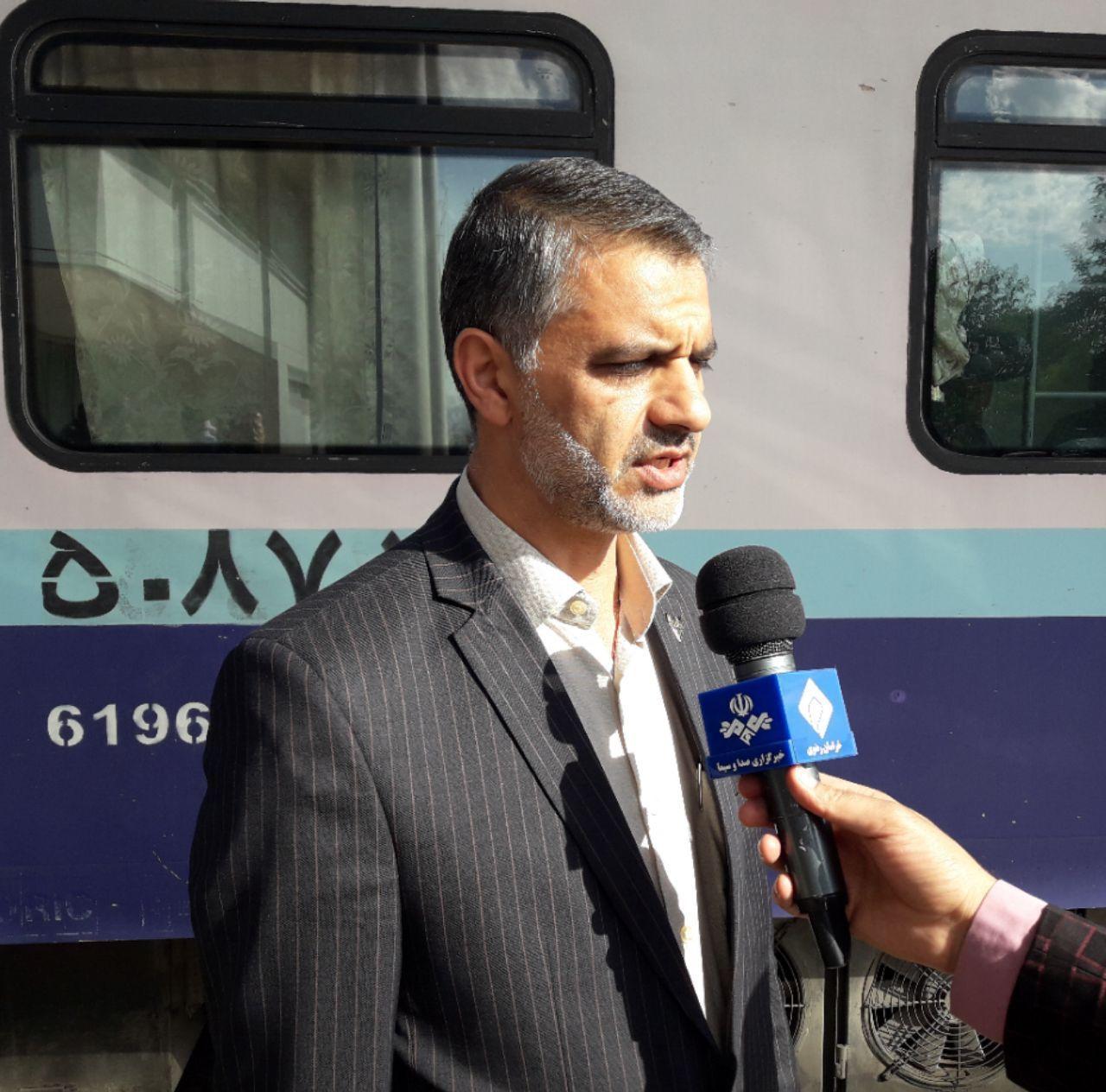 قطار گردشگری وارد تربت حیدریه شد