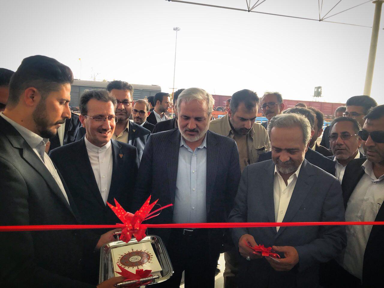 افتتاح فاز یک ایستگاه راه آهن زاهدان