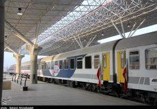 روزانه بیش از ۱۳۶ رام قطار از ایستگاه راه آهن تهران اعزام می گردد