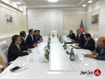 تهران و باکو بر گسترش همکاری های حمل ونقل ریلی تأکید کردند
