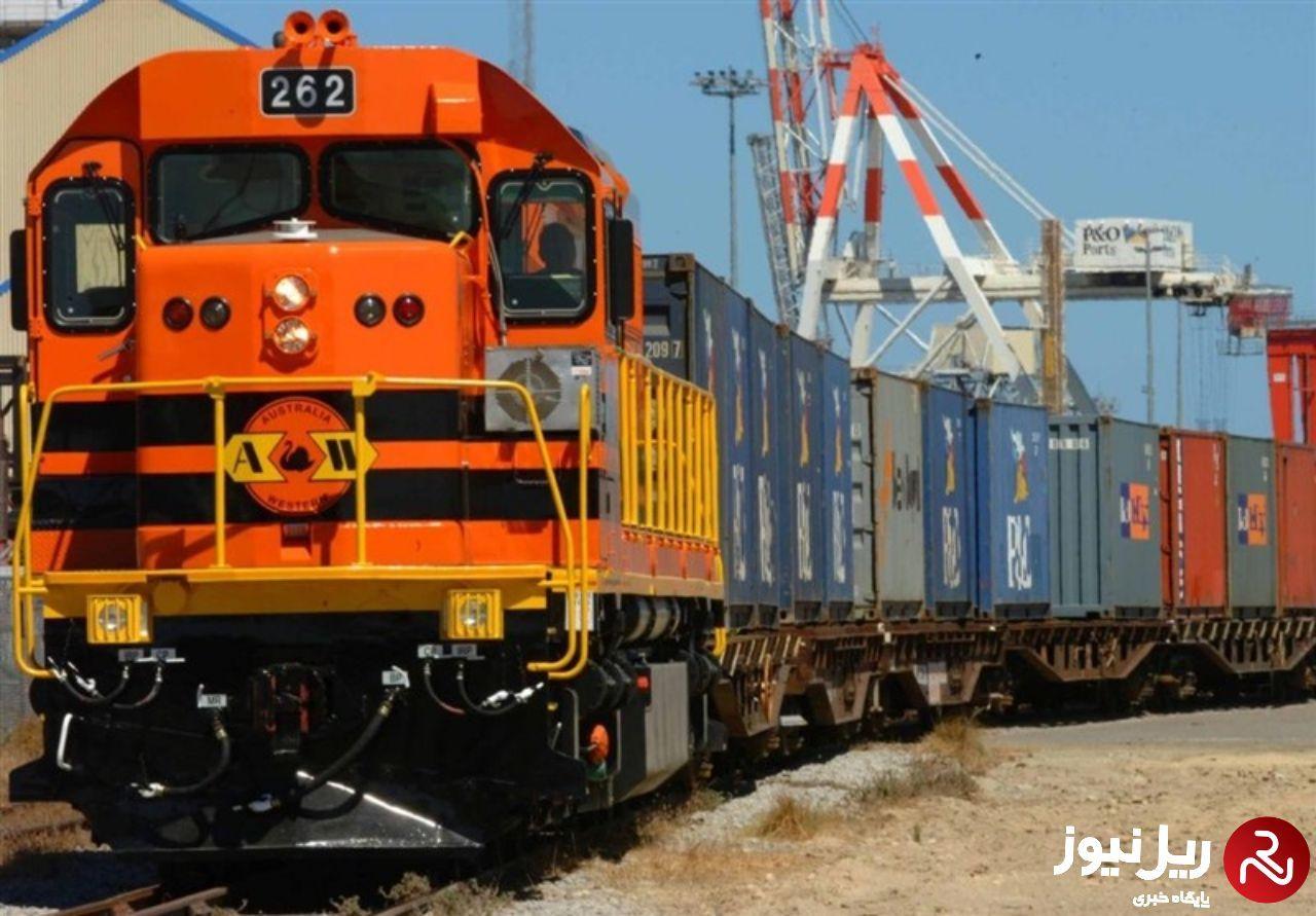 اولین محموله از ترکیه به گرجستان از طریق خط آهن جدید تحویل می شود