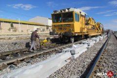 بهره برداری از طرح دوخطه راه آهن اهواز _اندیمشک تا سال آینده