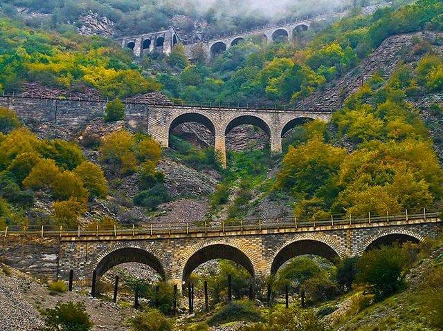 آمار کلی پل های راه آهن ایران