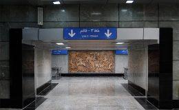 تکذیب آتش سوزی قطار در خط ۳ متروی تهران