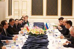 گزارش تصویری نشست وزیر راه و شهرسازی و وزیر اقتصاد آذربایجان