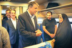 اعزام قطار گردشگری تهران – رشت با حضور وزیر راه و مدیرعامل راه آهن