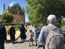 قطار گردشگری به زنجان رسید