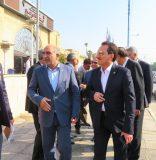 بازدید مدیرعامل راه آهن از اداره کل راه آهن خوزستان و منطقه ویژه اقتصادی بندر امام (ره)