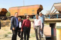 مدیرعامل راه آهن از محور ریلی تهران- کرج و کارخانجات تعمیرات لکوموتیو کرج بازدید کرد