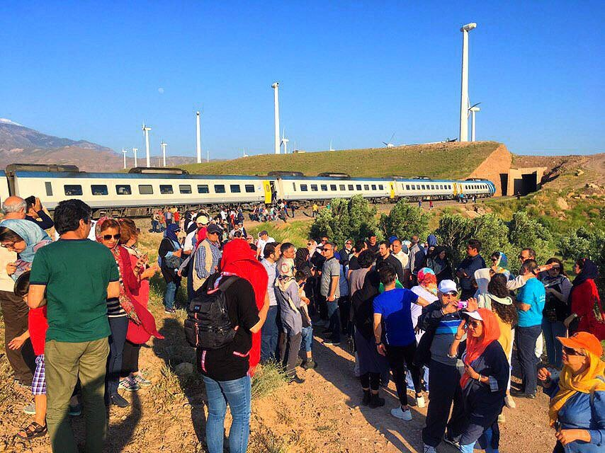 ورود چهارمین قطار گردشگری به استان گیلان