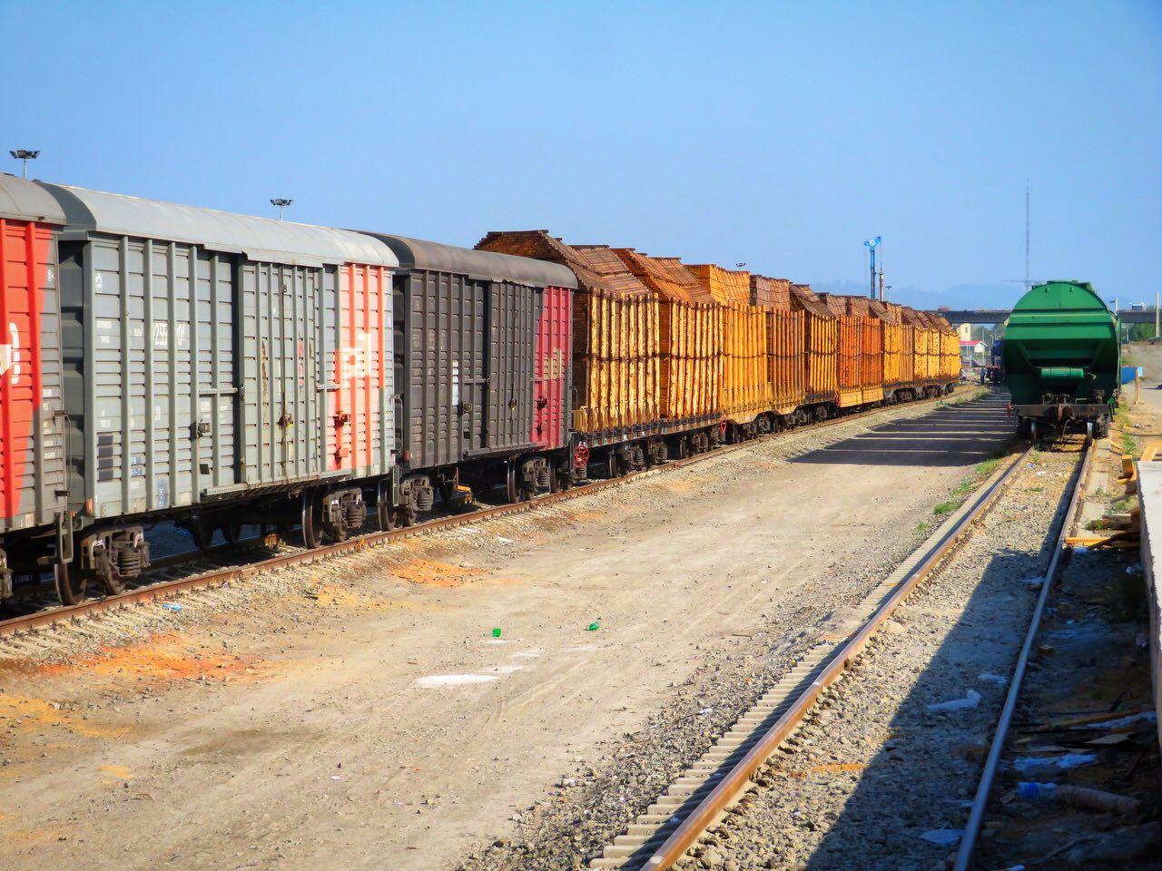 عملکرد اداره کل راه آهن هرمزگان در پنج ماهه سال۹۸