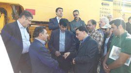 گزارش تصویری / بازدید معاون وزیر راه و شهرسازی از راه آهن میانه – تبریز