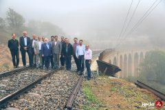 گزارش تصویری؛ شروع بازدید ارزیاب سازمان جهانی یونسکو از بخشی از ایستگاه تهران و محور شمال