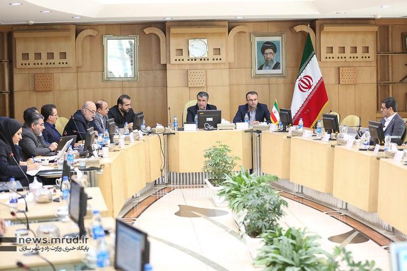 گزارش تصویری از برگزاری دومین نشست شورای حملونقل و لجستیک وزارت راه و شهرسازی