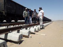 سیستم روسازی Beam Track (تیر خط) در اداره کل راه آهن شرق اجرا شد