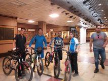 متروی تهران میزبان بیش از ۱۳ هزار دوچرخه سوار بود
