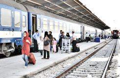 جابهجایی ۷۰۰۰ زائر اربعین توسط قطار همدان
