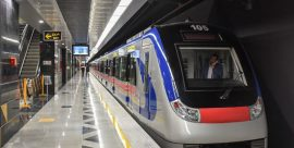 جابجایی رایگان بیش از ۴۵۰ هزار مسافر توسط متروی تهران و حومه