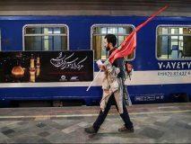 هفت هزار زائر اربعین حسینی با قطار همدان جابهجا شدند