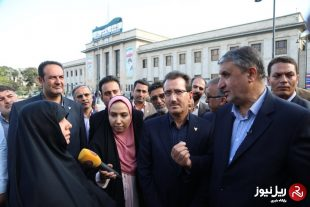 وزیر راه و شهرسازی از ایستگاه راه آهن تهران بازدید کرد+گزارش تصویری