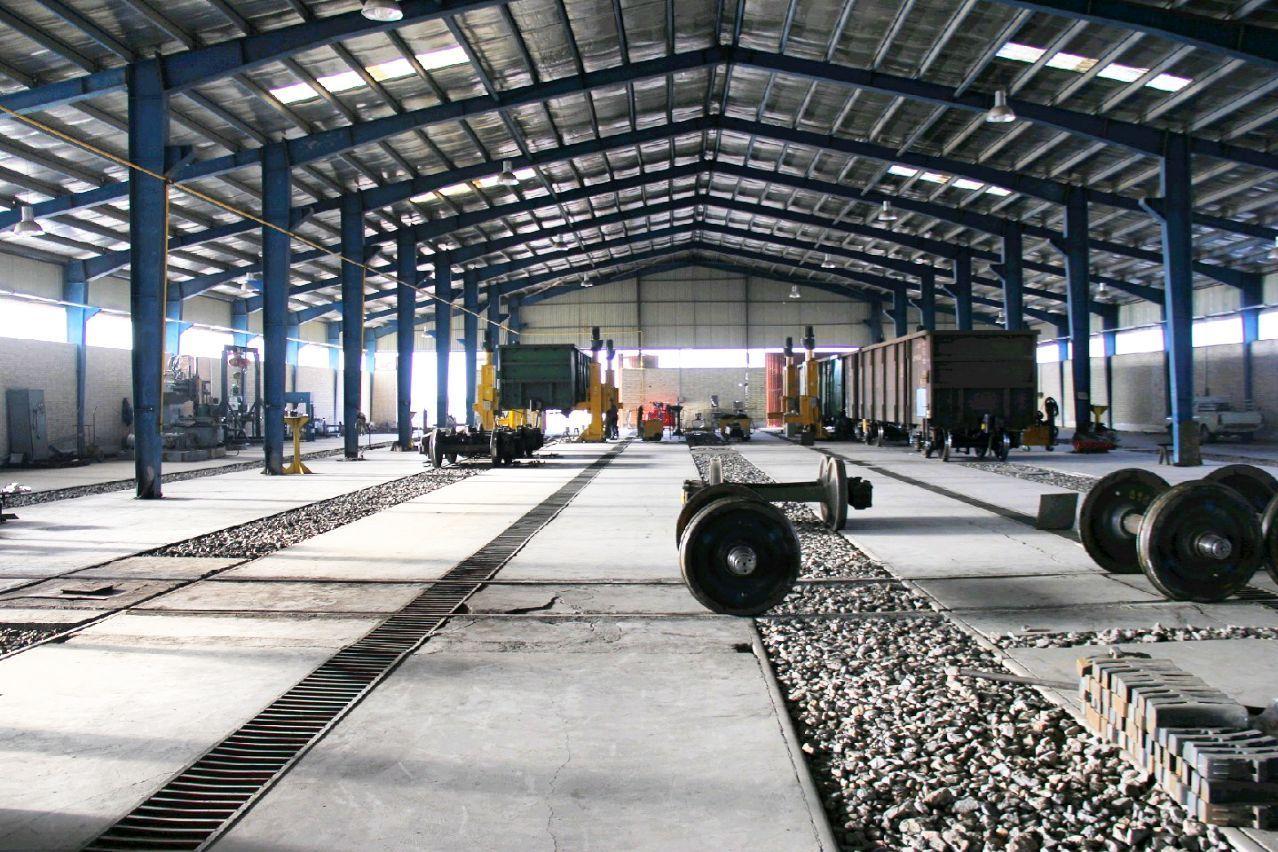 تعمیر اساسی ۴۷ واگن در کارخانه تعمیرات واگن میبد