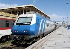 تغییر ساعت حرکت قطار همدان- مشهد