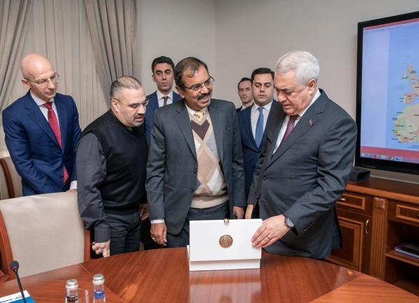 خط ریلی آذربایجان-ایران به زودی افتتاح میشود