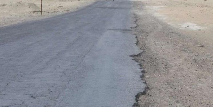 تعریض و بهسازی جاده ایستگاه محمدیه توسط راهداری قم