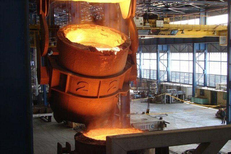 فولاد اسفراینبرای قطارهای رجا چرخ تولید میکند