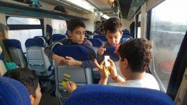 دانشآموزان مازندران با قطار به اردو میروند