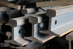 یک تن آهن آلات ریلی مسروقه در اصفهان کشف شد