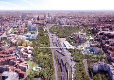 تبدیل راهآهن قدیمی میلان به پارک های سرسبز