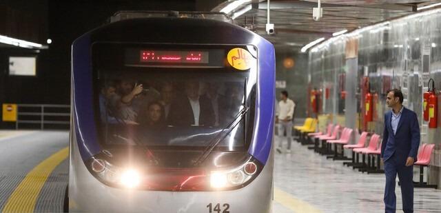 یازدهمین ایستگاه از خط ۷ متروی تهران به بهره برداری رسید