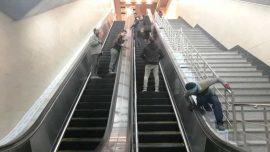 ایستگاه شادمان به پله برقی مجهز شد