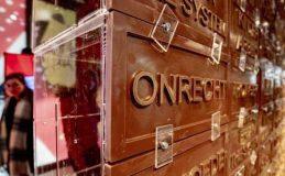 دیوار شکلاتی ایستگاه راه آهن هلند!