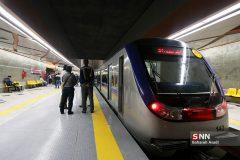 کاهش سرفاصله حرکت قطارها در خط ۳ متروی تهران