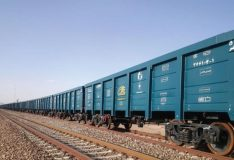 ۱۶ واگن باری لبه بلند در شرکت فولاد درخشان اراک تولید شد