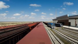 رشد ۱۴۴ درصدی صادرات از حوزه ریلی گلستان طی ۹ ماهه امسال