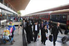 ظرفیت ویژه قطار زنجان – تهران برای شرکت در مراسم تشییع سپهبد سلیمانی