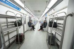 استفاده از قطار سه واگنه در خط فرودگاه امام خمینی (ره)