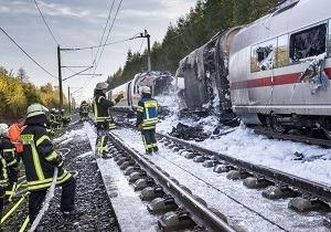آتش سوزی در ایستگاه مرکزی قطار در آلمان