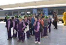 اجرای طرح قطار نظم و دوستی ویژه دانش آموزان در تبریز