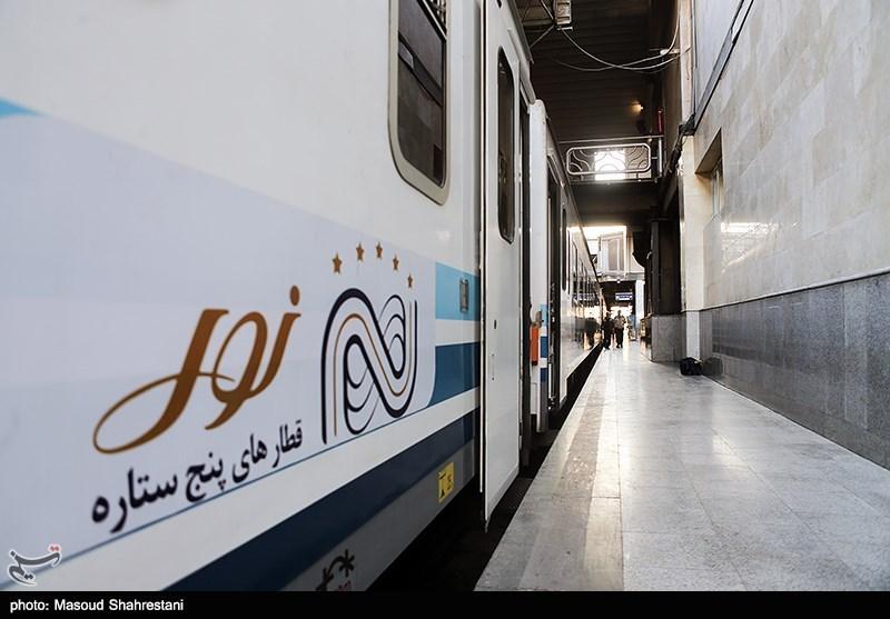 حضور قطار پنج ستاره نور در سیزدهمین نمایشگاه بین المللی گردشگری تهران