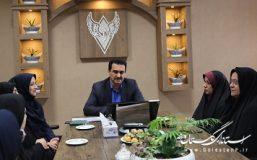 دیدار مدیرکل راه آهن شمالشرق ۲ با مدیرکل و مشاور بانوان و خانواده استانداری گلستان