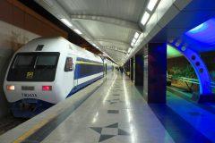 خدمات رسانی شرکت بهره برداری متروی تهران به تماشاگران شهرآورد ٩٢