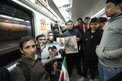 جابجایی یک میلیون و ۶۳۵ هزار و ۲۸۱ نفر با متروی تهران در یوم الله ۲۲ بهمن ۹۸
