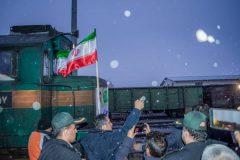 گزارش تصویری / مراسم پایان عملیات بازسازی خطوط راهآهن محور جنوب به طول ۲۹۰ کیلومتر