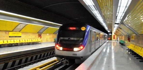 اختلال خط ۴ متروی تهران برطرف شد